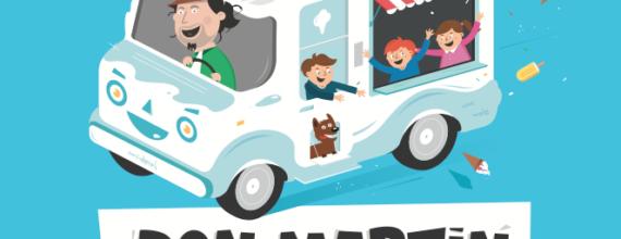 Don Martin isbilen barnebok for små og store